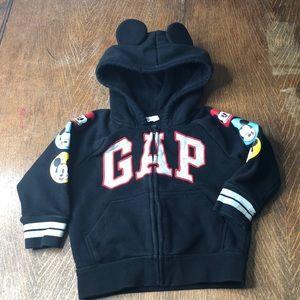 Gap X Disney Mickey Mouse Hoodie Sz. 2T